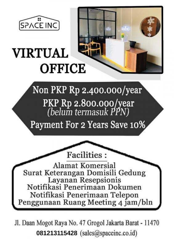 sewa virtual office