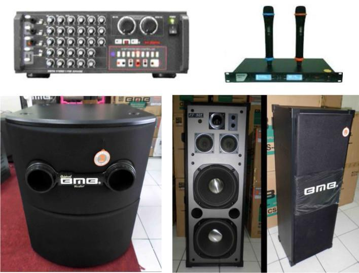 BMB AUDIO KARAOKE PAKET PREMIUM HIGH-END