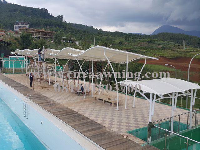 jasa pengadaan dan pemasangan waterproof tenda membrane import
