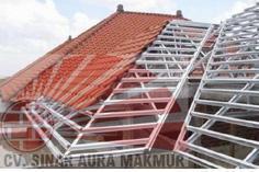 Harga rangka atap baja ringan Surabaya