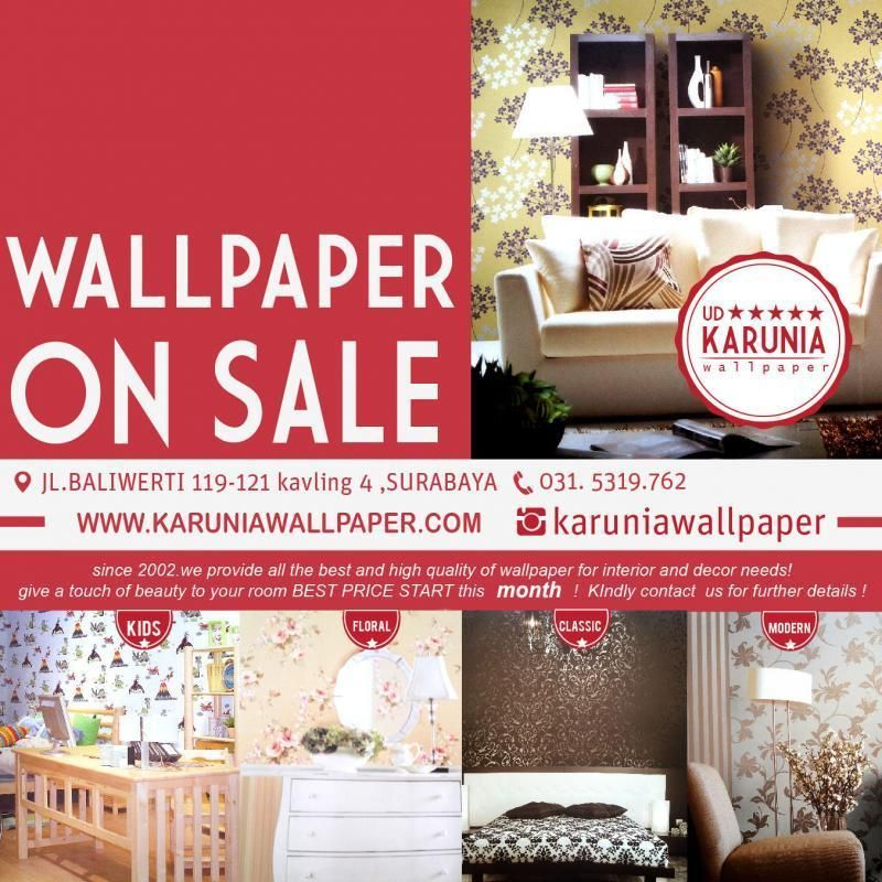 Wallpaper Dinding Surabaya Karunia Wallpaper