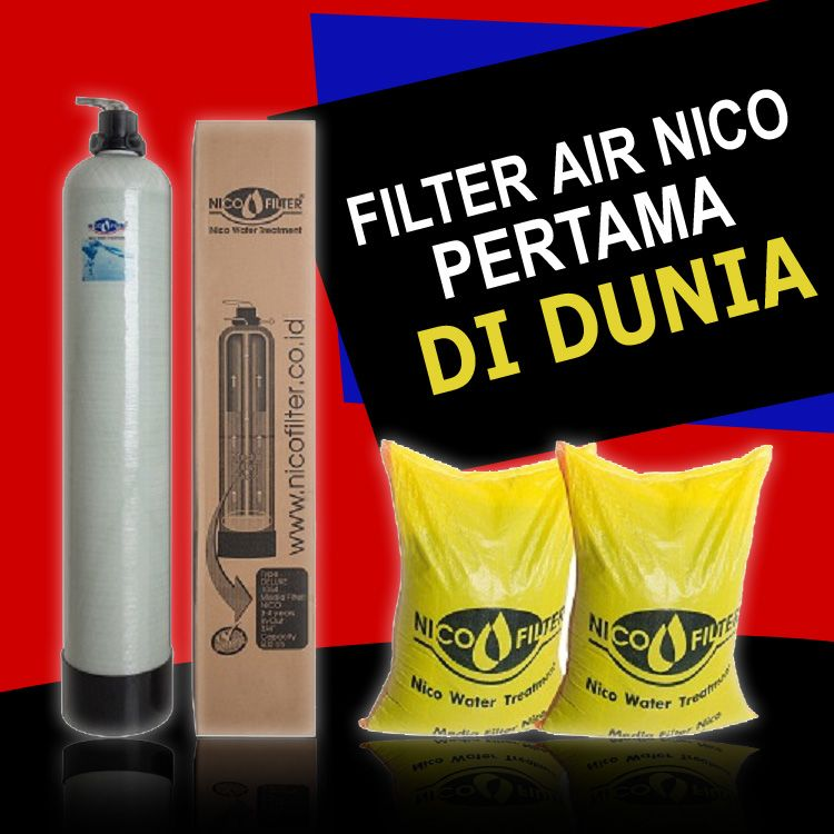 Filter Air Lubuk linggau NICO FILTER | Jika Gagal 100% Uang kembali