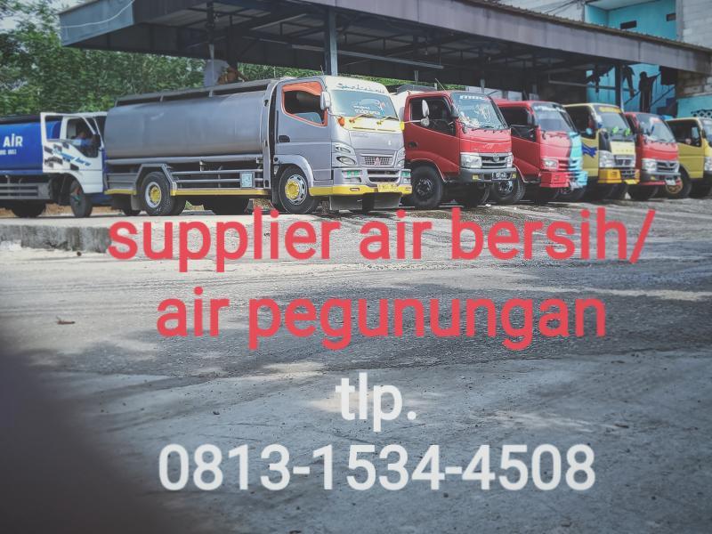 Supplier air bersih Jakarta
