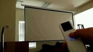 screen projector motorized