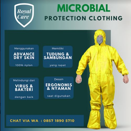 Royalcare.ID - APD, Hazmat, Coverall dari Bahan Anti Air
