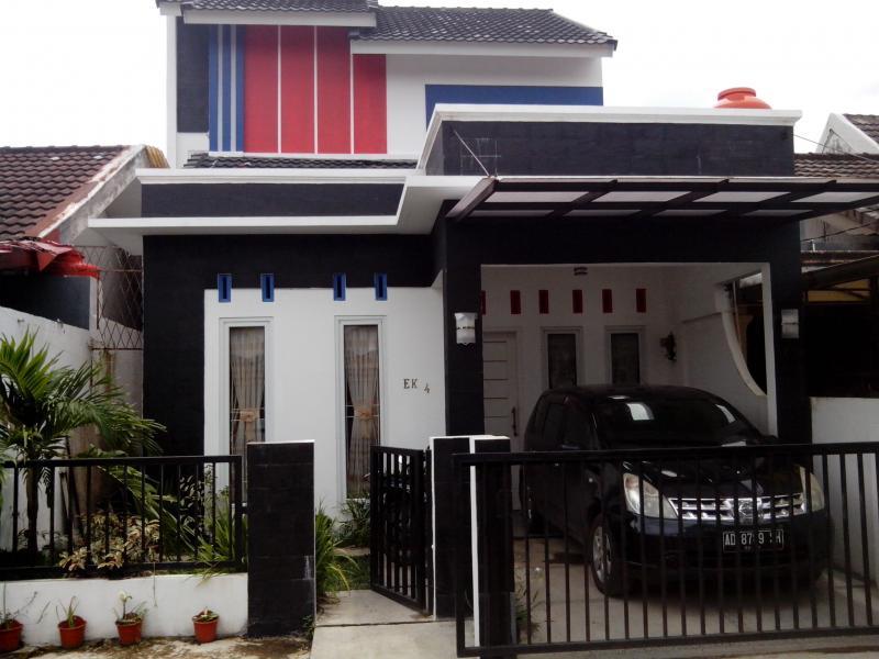 Disewakan Rumah Minimalis 2 Lantai di Polygon Palembang