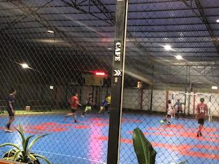 Futsal selalu ramai terutama setelah pulang kerja