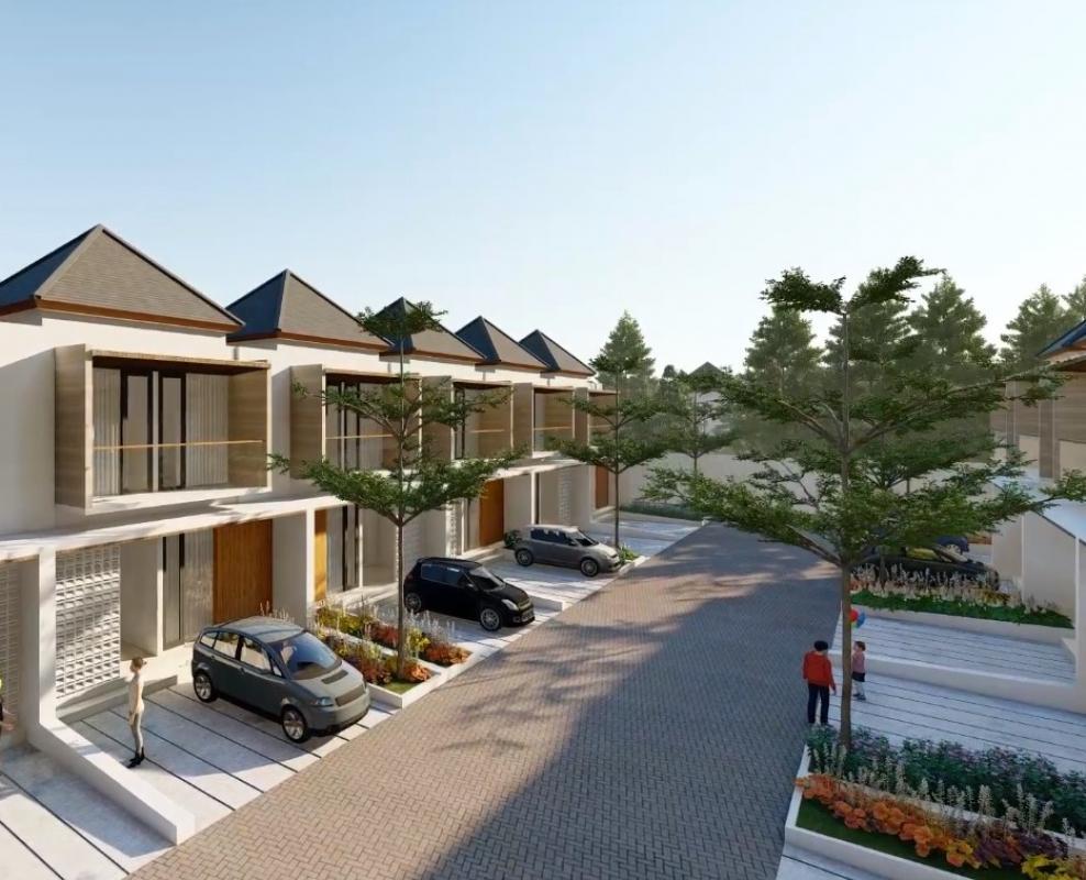 Rumah Mewah Tipe 76 Dua Lantai Cluster Mewah dengan Clubhouse & Kolam Renang
