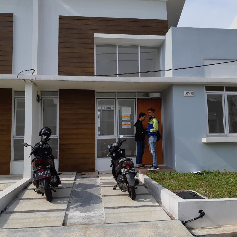 Dijual Rumah Asri di Perumahan Citra Maja Raya Cluster GreenLand Tangerang