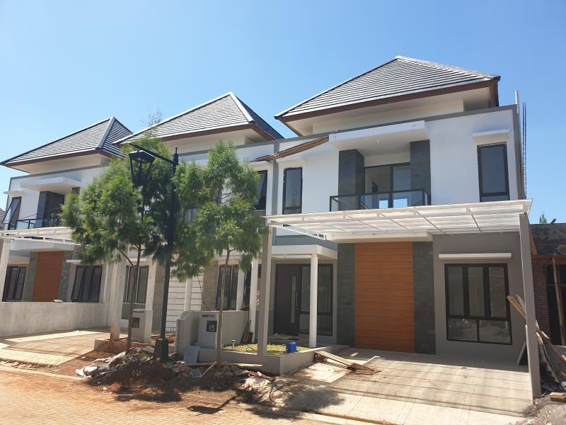 Rumah Minimalis 2 Lantai Kedaton Park BSB City Semarang