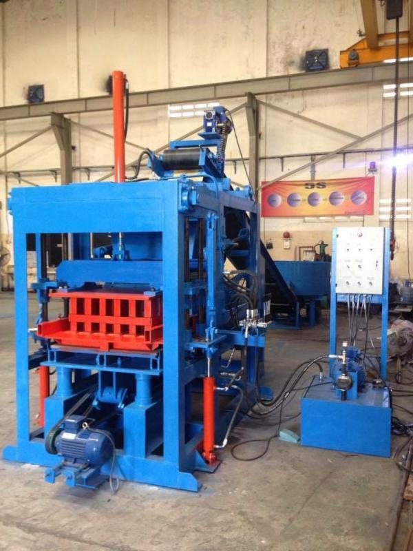 Mesin Press Paving Block Hydrolic Semi Manual