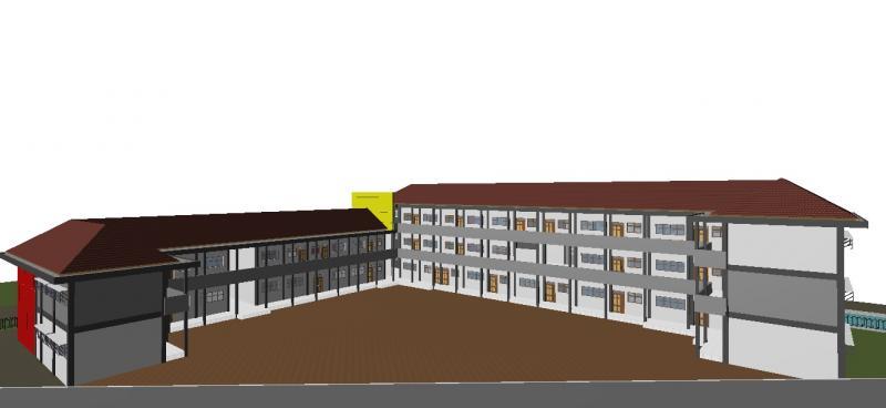 Desain Arsitektur dan Perhitungan Struktur Bangunan