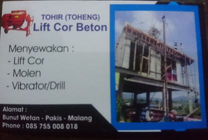 lift cor beton